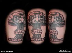 Eod Mushroom Cloud Tattoo Artistsorg