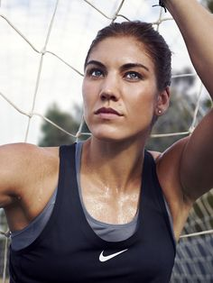 I love hope solo she really inspires me to keep playing keeper