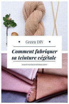 Fabriquer sa teinture végétale / DIY Nature / Tutoriel pour faire sa teinture naturelle