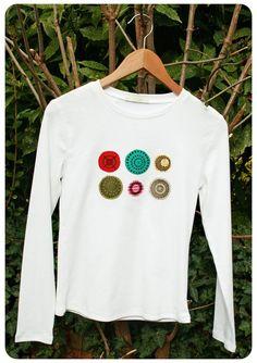 fabric-scrap shirt