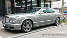 Bentley Brooklands spotted in Zurich, Switzerland