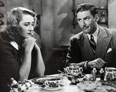 "Errol Flynn and Joan Blondell in ""The Perfect Specimen."" #ErrolFlynn (Forever Flynn)"
