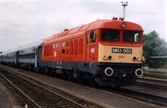 Szombathely, Hungary M63 Japan Train, Rail Train, Rail Transport, Train Stations, Bahn, Commercial Vehicle, Hungary, Diesel, Transportation