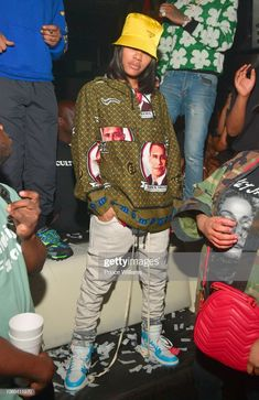 Teyana Taylor attends a Party at Story Nightclub on November Tomboy Outfits, Chill Outfits, Swag Outfits, Dope Outfits, Dressy Outfits, Fashion Outfits, Quirky Fashion, Tomboy Fashion, Fashion Killa