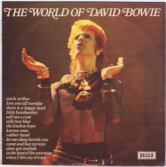 David Bowie The World Of David Bowie Records, Vinyl and CDs - Hard ...