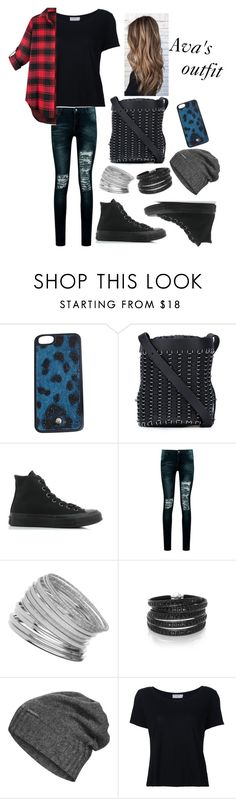 """For a wattpad character outfit"" by dream-a-wish ❤ liked on Polyvore featuring Dolce&Gabbana, Paco Rabanne, Converse, Boohoo, Miss Selfridge, Sif Jakobs Jewellery, The North Face and Frame"