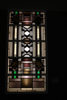 Johan Thorn Prikker (1868-1932) Stained Glass Window.