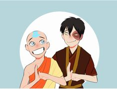 Zuko with The Original Team Avatar