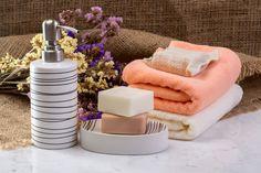 Banyonuzu Yeni Baştan Yaratacak Kadar Güzel Banyo Aksesuarları Soap Dispenser, Towel, Bathroom, Soap Dispenser Pump, Washroom, Full Bath, Bath, Bathrooms