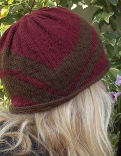 Just So Cloche/Chemo Hat - Knitting Patterns and Crochet Patterns from KnitPicks.com