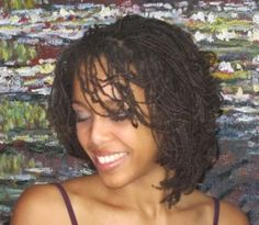 Very Short Sisterlocks | Day 23: A Roller Set Hair Style On Micro Locs