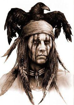 Native Indian Tattoos, Native American Tattoos, Native American Girls, Native American Warrior, Native American Paintings, Native American Pictures, Native American Crafts, Native American Tribes, Native American History