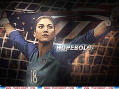 Seattle Reign FC goalkeeper (Hope Solo)