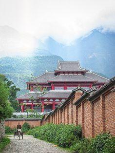TEMPLE CHINOIS CHONG SHENG DE DALI