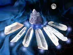 Sanando el Alma: Cristales Lemurianos