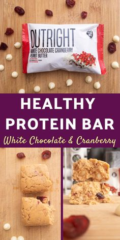 An all natural protein bar that makes for a great healthy snack or on the go breakfast. One of the best protein bars you can buy. A healthy white chocolate bar with peanut butter, oats, and honey. Natural Protein Bars, Healthy Protein Snacks, Healthy Chocolate, White Chocolate, Protein Powder Recipes, Oat Bars, Healthy Recipes For Weight Loss, Easy Desserts, Snack Recipes