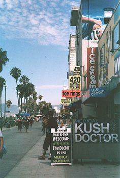 Venice Beach, California.