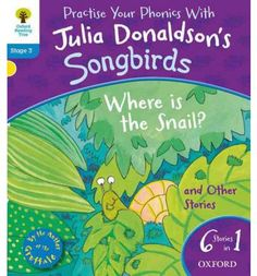 The Children's Laureate and best-selling author of The Gruffalo, Julia Donaldson, has carefully created the Songbirds Phonics series to support children who are learning to read. It builds children's confidence through a clear phonics development with gradual progression. This Level 3 Songbirds collection contains 6 exciting phonics stories in 1!