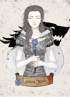 Asoiaf - Lyanna Stark: Queen of Love and Beauty by HetteMaudit on @DeviantArt