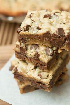 Mudslide Blonde Brownies ohsweetbasil.com