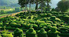 Marqueyssac Gardens in France