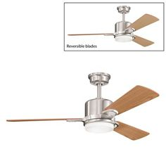 ceiling fan blades included at minka aire shell white ceiling fan love ...