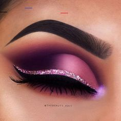 43 magical eye makeup ideas - projects to try - .- 43 magische Augen-Make-up-Ideen – Projects to try – 43 magical eye makeup ideas – projects to try – Smoke Eye Makeup, Purple Eye Makeup, Makeup Eye Looks, Eye Makeup Art, Beautiful Eye Makeup, Cute Makeup, Makeup Inspo, Eyeshadow Makeup, Makeup Ideas