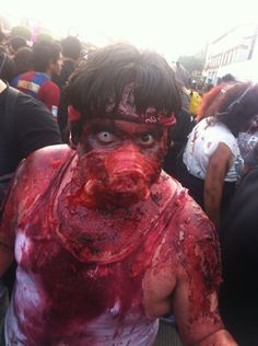 Tijuana Invaded by Zombies!