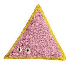 Triangle Friend Hook Pillow