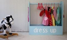 Craftiness is Not Optional's Dress Up Storage