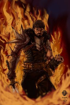 Dragon Age 2 Hawke by SparkOut1911