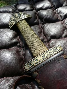 Our knowledge about the arms and armour of the Viking age is based on archaeological finds, pictorial representation, and to some extent on the accounts in the Norse sagas andNorse laws recorded in the 13th century. According to custom, all free Norse men were required to own weapons and were permitted to carry them all the time.