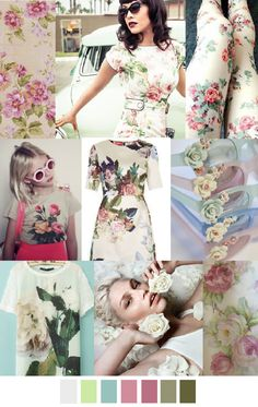 TREND #Summer2016 #70'sROSES Sources@patterncurator ROSE BOWL
