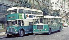 STCP Porto: 16 passing 210 on Avenida dos Aliados Portugal, Iberian Peninsula, Bus Coach, Douro, Busses, Atlantic Ocean, Public Transport, Transportation, 1970s