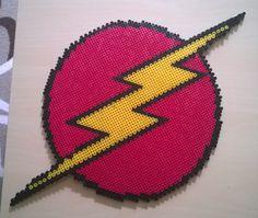 The flash logo perler beads by Szilvi