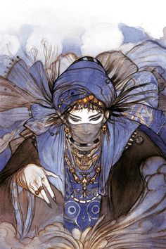 The Arabian Nights vol.2 | Yoshitaka Amano