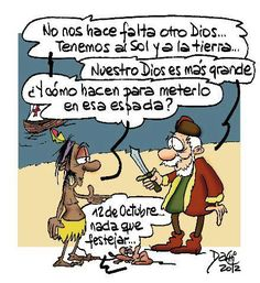 Caricatura Colón 5