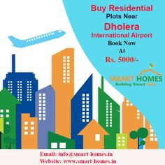 Buy 1 #Residential Plot & Get 1 Free Near #Dholera International #Airport Book Now @ Just Rs. 5000/-  http://bit.ly/1N72Kk0