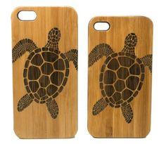 Sea Turtle iPhone 5 5S Case. Tribal Tattoo Ocean Animal Beachy Turtles. Sea Creature. Eco-Friendly Bamboo Wood Cover. iMakeTheCase http://www.amazon.com/dp/B00L1PIOH4/ref=cm_sw_r_pi_dp_uWv5tb02KZ740