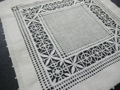 Drawnwork Embroidery