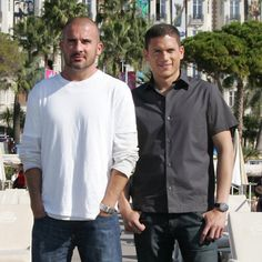 yes please ♥  dominic purcell & wentworth miller!