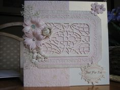 Used Sue Wilson New York background, paper from my stash and spellbinder and Sue Wilson flowers