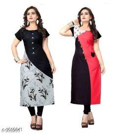 Sewing tops for girls free crochet 37 Ideas for 2019 Salwar Neck Designs, Kurta Neck Design, Dress Neck Designs, Kurta Designs Women, Blouse Designs, Latest Kurti Designs, Kurti Patterns, Dress Patterns, Crochet Patterns