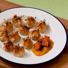 Fancy trying Andrew's chorizo and squash parcels from The Great British Bake Off?