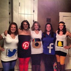 Social Media Halloween Costumes