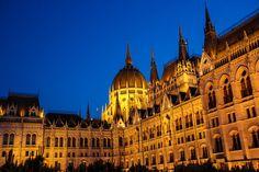 https://flic.kr/p/x6jfKB | Budapest Hungary in Spring | Parliament Building Budapest at Night