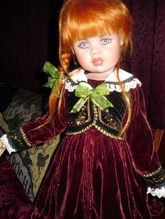 Beautiful Lily - My Jan McLean Doll
