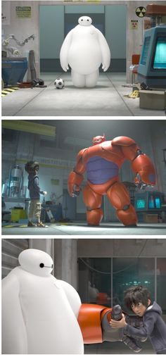 Big Hero 6, set to release in November 2014. Set in a fictional metropolis called San Fransokyo (a portmanteau of San Francisco and Tokyo), Hiro Hamada is a 14-year old prodigy who created a huggable robot named Baymax to fill the void after the death of his brother, Tadashi. To find the killer, Hiro formed a team named Big Hero 6, which included Wasabi-No-Ginger, Honey Lemon, GoGo Tomago, Fred, Baymax, and himself. | I am so excited for this!!