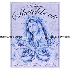 Steve Soto Religious Sketchbook Vol. Elements Tattoo, Chicano Style Tattoo, Sketches, Sketch Book, Chicano, Book Tattoo, Tattoo Supplies, Book Art, Chicano Tattoos