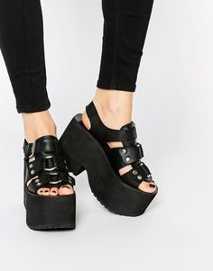 Image 1 of UNIF Bound Platform Sandals